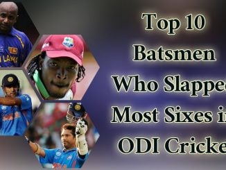 most Sixes in ODI match