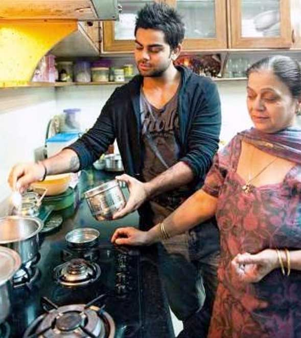 kohli-mother
